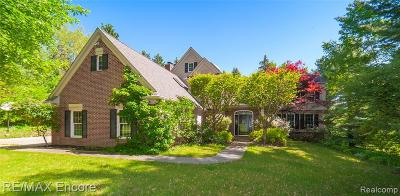 Oakland County Single Family Home For Sale: 9925 Rattalee Lake Road