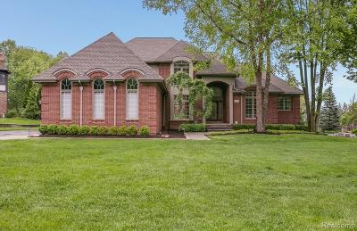 Rochester Hills Single Family Home For Sale: 1754 Fox Run