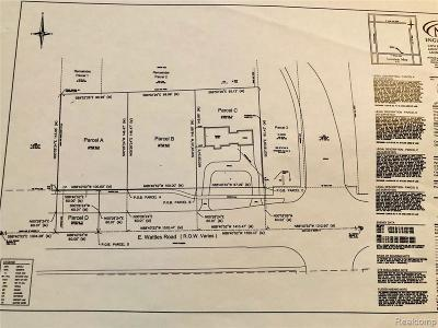 Troy Residential Lots & Land For Sale: 1707 E Wattles Road