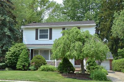 Royal Oak Single Family Home For Sale: 2717 Benjamin Avenue