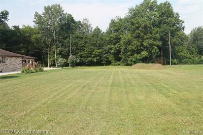 Romulus Residential Lots & Land For Sale: Washington