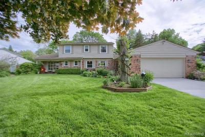 Commerce Twp Single Family Home For Sale: 1935 Dawn Ridge Road