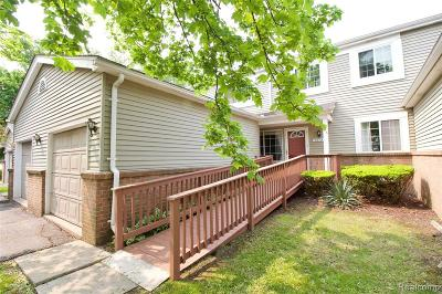 West Bloomfield, West Bloomfield Twp Condo/Townhouse For Sale: 2072 Woodrow Wilson Blvd #3