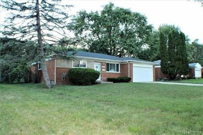 Southfield Single Family Home For Sale: 28141 Tapert