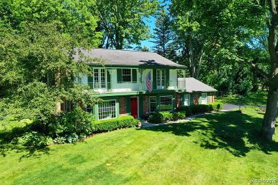Bloomfield Twp Single Family Home For Sale: 5520 Crabtree Road