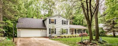 Shelby Twp Single Family Home For Sale: 3862 Pickford
