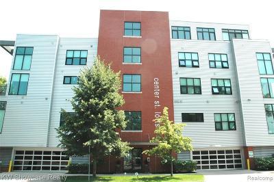 Royal Oak Condo/Townhouse For Sale: 100 N Center Street #202