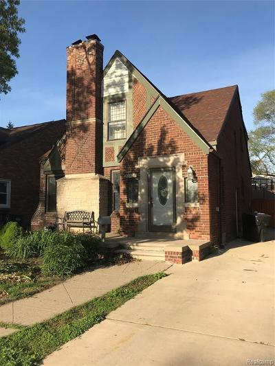 Detroit Single Family Home For Sale: 20130 Picadilly