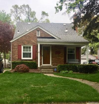 Royal Oak Single Family Home For Sale: 2510 N Connecticut Avenue
