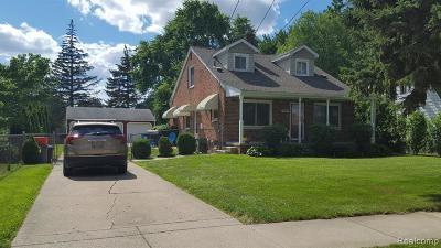 Farmington Hills, Farmington, Livonia, Redford Single Family Home For Sale: 11795 Hartel Street