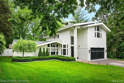 West Bloomfield Twp Single Family Home For Sale: 5645 Eastman Boulevard