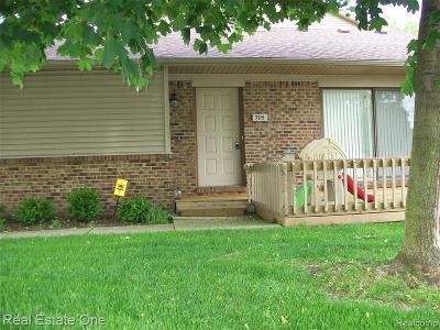 West Bloomfield, West Bloomfield Twp Condo/Townhouse For Sale: 7115 Elmhurst #27