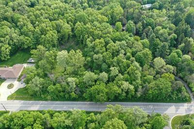 Oakland Twp Residential Lots & Land For Sale: Orion Road