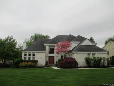 West Bloomfield Single Family Home For Sale: 6561 Torybrooke Circle