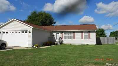 Romulus Single Family Home For Sale: 15016 Meadow