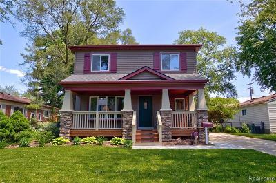 Berkley Single Family Home For Sale: 2970 Gardner Avenue