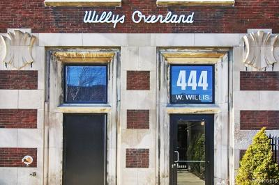 Detroit Condo/Townhouse For Sale: 444 W Willis Street #513