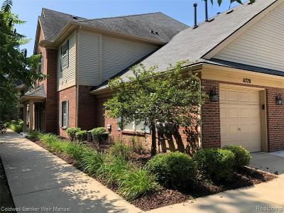 Livonia Condo/Townhouse For Sale: 11778 Farmington Road