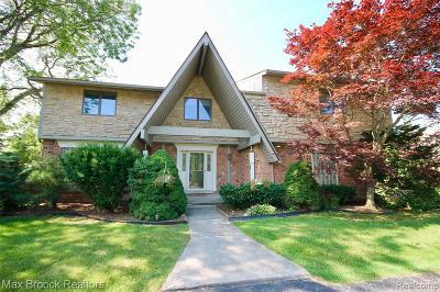 West Bloomfield Single Family Home For Sale: 4189 Pinehurst Drive