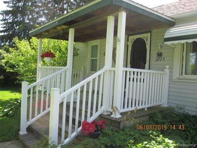 Genesee Twp Single Family Home For Sale: 3275 N Center Road