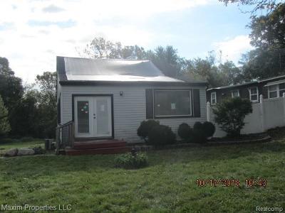 Trenton Single Family Home For Sale: 4687 Fort St