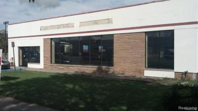 Livonia Commercial For Sale: 19276 Middlebelt Road