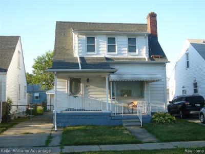 Lincoln Park Single Family Home For Sale: 876 Farnham Avenue