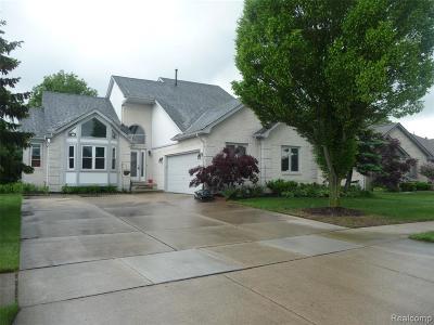 Macomb Twp Single Family Home For Sale: 52279 Matterhorn Drive
