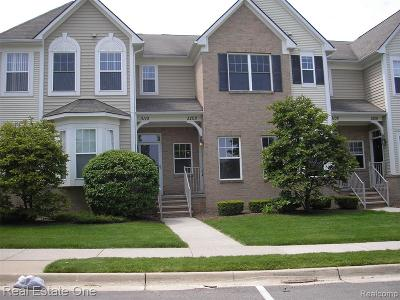 Oxford, Oxford Twp, Oxford Vlg Condo/Townhouse For Sale: 3208 Paradise Trail