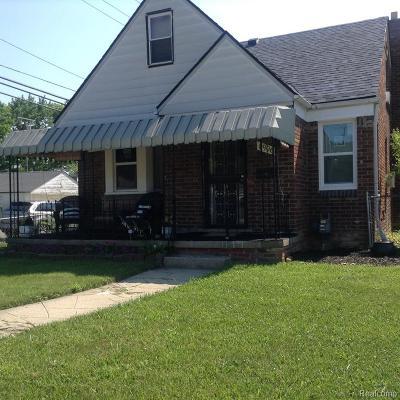 Detroit Single Family Home For Sale: 8906 Grandville Avenue