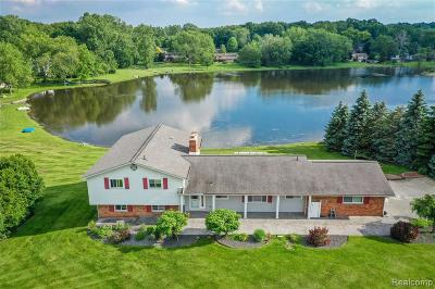 Troy Single Family Home For Sale: 2557 Lake Charnwood Drive