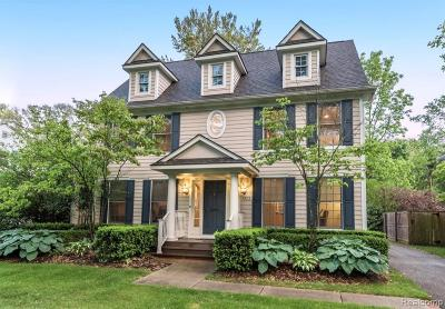 Birmingham Single Family Home For Sale: 1923 Fairview Street