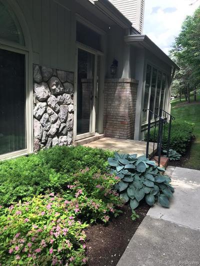 Northville Condo/Townhouse For Sale: 233 Saint Lawrence Lane