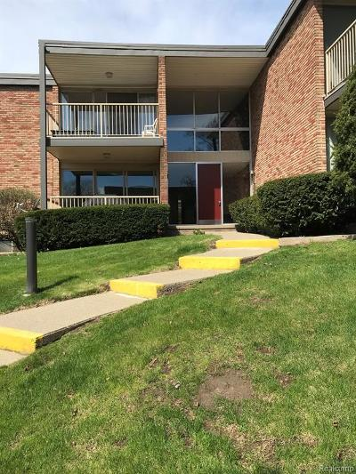 Bloomfield Twp Condo/Townhouse For Sale: 4049 W Maple Road