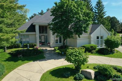 West Bloomfield, West Bloomfield Twp Single Family Home For Sale: 6226 Stonebridge W
