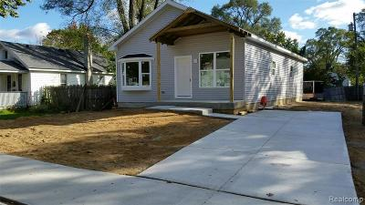 Ferndale Single Family Home For Sale: 1587 W Saratoga Avenue