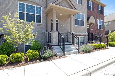 Rochester Hills Condo/Townhouse For Sale: 863 Barclay Circle