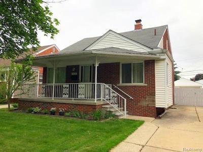 Allen Park Single Family Home For Sale: 9320 Melbourne Avenue