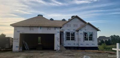 Single Family Home For Sale: Lot 16 Pebble Beach Drive