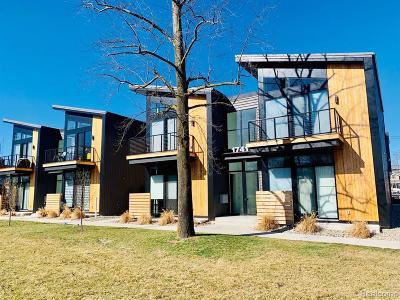 Ferndale Condo/Townhouse For Sale: 1741 Livernois Street #2