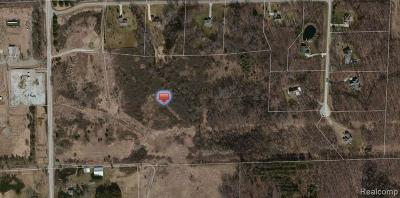 Addison Twp Residential Lots & Land For Sale: Rochester Road