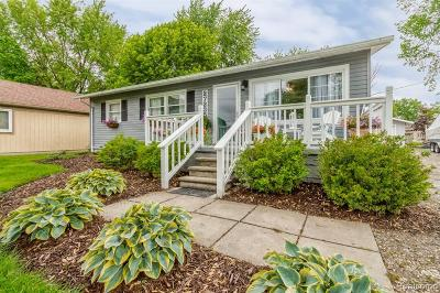 Harrison Twp Single Family Home Contingent - Continue To Show: 27235 Ballard Street