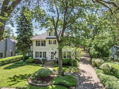 Birmingham Single Family Home For Sale: 1424 Yorkshire Road