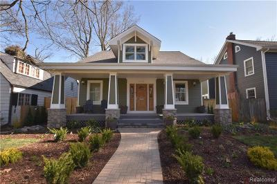 Birmingham Single Family Home For Sale: 615 Oak Avenue