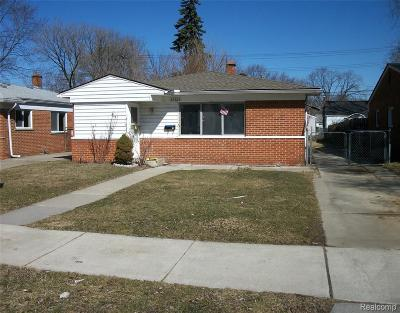 Dearborn Heights Single Family Home For Sale: 26364 McDonald Street
