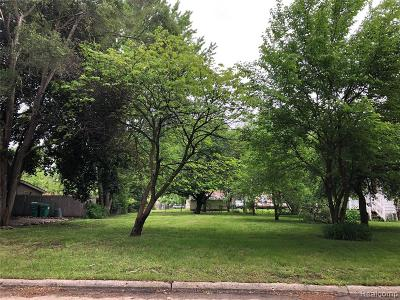 Macomb County, Oakland County, Wayne County Residential Lots & Land For Sale: Rosslyn