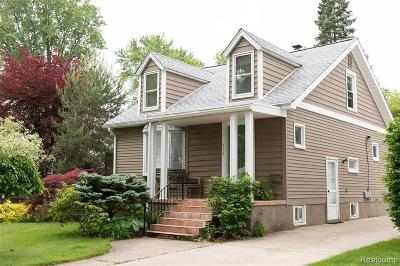 Royal Oak Single Family Home For Sale: 304 S Kenwood Avenue