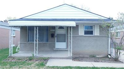 Taylor Single Family Home For Sale: 8815 Katherine Street