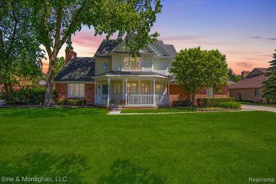 STERLING HEIGHTS Single Family Home For Sale: 2225 Roseann Drive