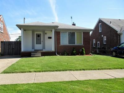 Southgate Single Family Home For Sale: 13249 Sycamore Street